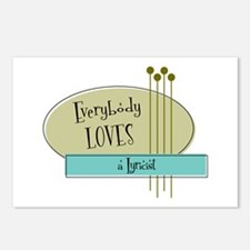Everybody Loves a Lyricist Postcards (Package of 8