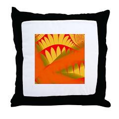 Decorator Tiles Throw Pillow