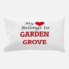 My heart belongs to Garden Grove Calif Pillow Case