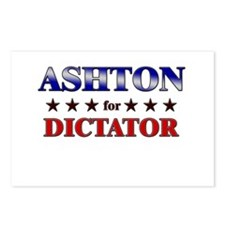 ASHTON for dictator Postcards (Package of 8)