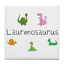 Laurenosaurus Tile Coaster