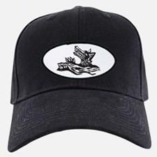 Aqua Wolf Baseball Hat