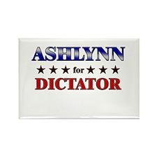 ASHLYNN for dictator Rectangle Magnet