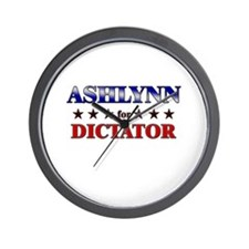 ASHLYNN for dictator Wall Clock