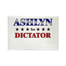 ASHLYN for dictator Rectangle Magnet