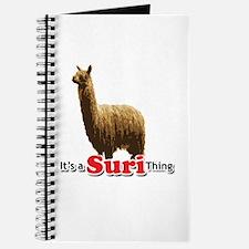It's a Suri (Alpaca) Thing Journal