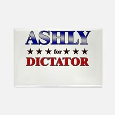 ASHLY for dictator Rectangle Magnet