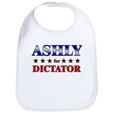 ASHLY for dictator Bib