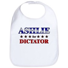 ASHLIE for dictator Bib