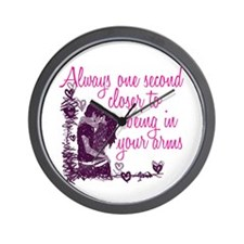 One Second Closer Wall Clock