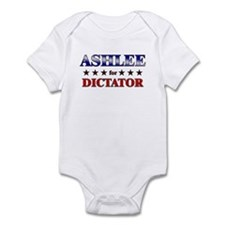 ASHLEE for dictator Onesie
