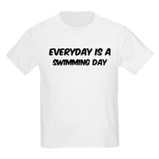 Swimming everyday T-Shirt