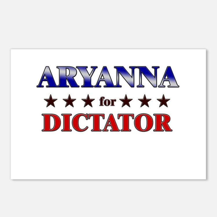 ARYANNA for dictator Postcards (Package of 8)