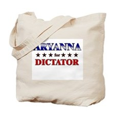 ARYANNA for dictator Tote Bag