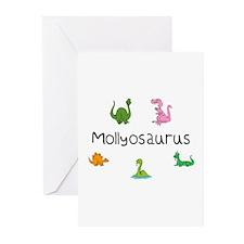 Mollyosaurus Greeting Cards (Pk of 10)