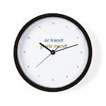 Sic Transit Gloria Mundi [Latin] Wall Clock