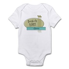 Everybody Loves a Librarian Infant Bodysuit
