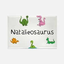 Natalieosaurus Rectangle Magnet