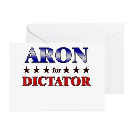 ARON for dictator Greeting Cards (Pk of 10)