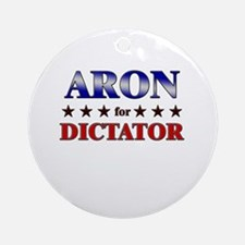 ARON for dictator Ornament (Round)