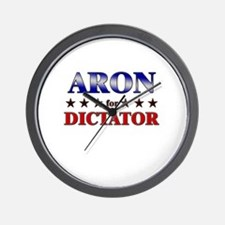 ARON for dictator Wall Clock