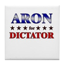 ARON for dictator Tile Coaster