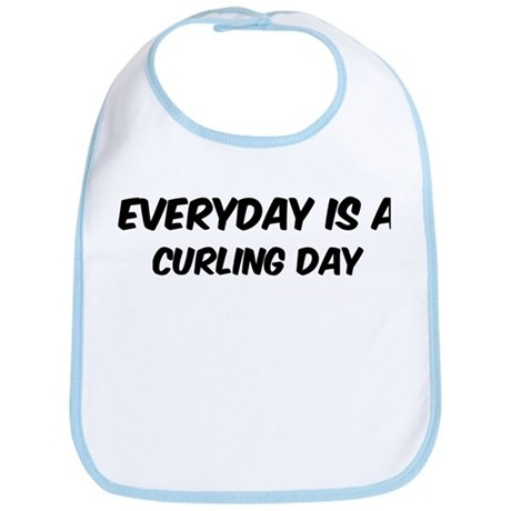 Curling everyday Bib