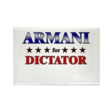 ARMANI for dictator Rectangle Magnet