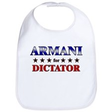 ARMANI for dictator Bib