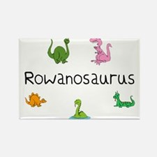 Rowanosaurus Rectangle Magnet