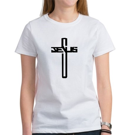 Jesus Cross Women's T-Shirt