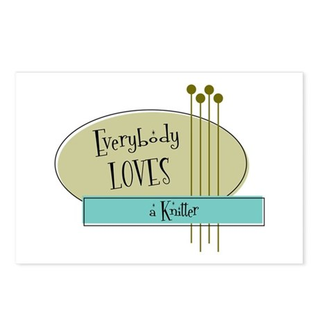 Everybody Loves a Knitter Postcards (Package of 8)
