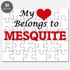 My heart belongs to Mesquite Texas Puzzle