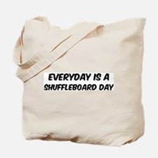 Shuffleboard everyday Tote Bag