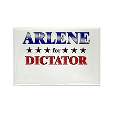 ARLENE for dictator Rectangle Magnet