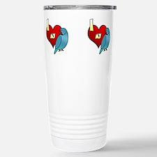 Unique Exotic birds Travel Mug