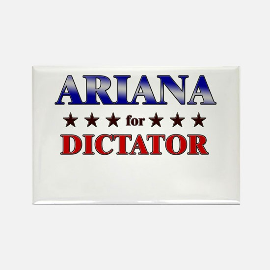 ARIANA for dictator Rectangle Magnet