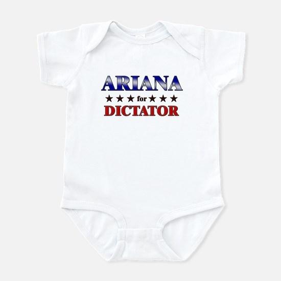 ARIANA for dictator Infant Bodysuit