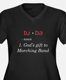Tuba - God's Gift to Marching Band Women's Plus Si