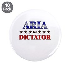 """ARIA for dictator 3.5"""" Button (10 pack)"""