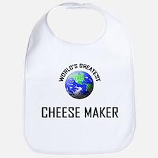 World's Greatest CHEESE MAKER Bib