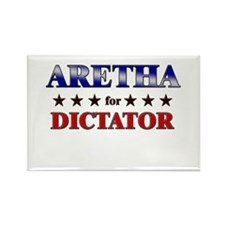ARETHA for dictator Rectangle Magnet