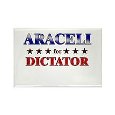ARACELI for dictator Rectangle Magnet