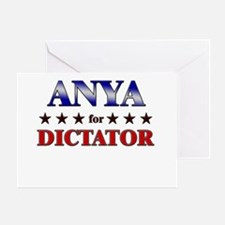 ANYA for dictator Greeting Card