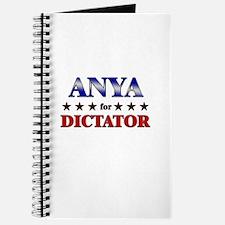 ANYA for dictator Journal