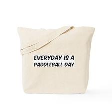 Paddleball everyday Tote Bag