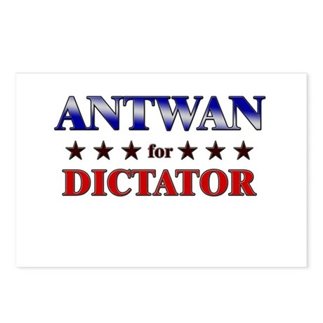 ANTWAN for dictator Postcards (Package of 8)