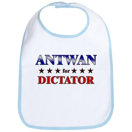 ANTWAN for dictator Bib