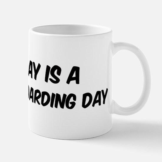 Mountain Boarding everyday Mug
