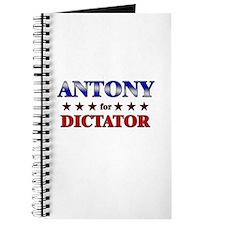 ANTONY for dictator Journal